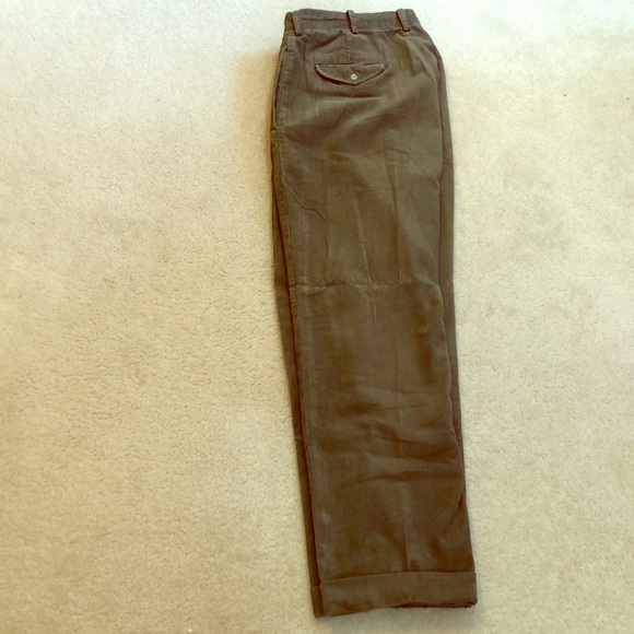 Ralph Lauren Other - Ralph Lauren W 34 L 30 hunters green corduroy pant